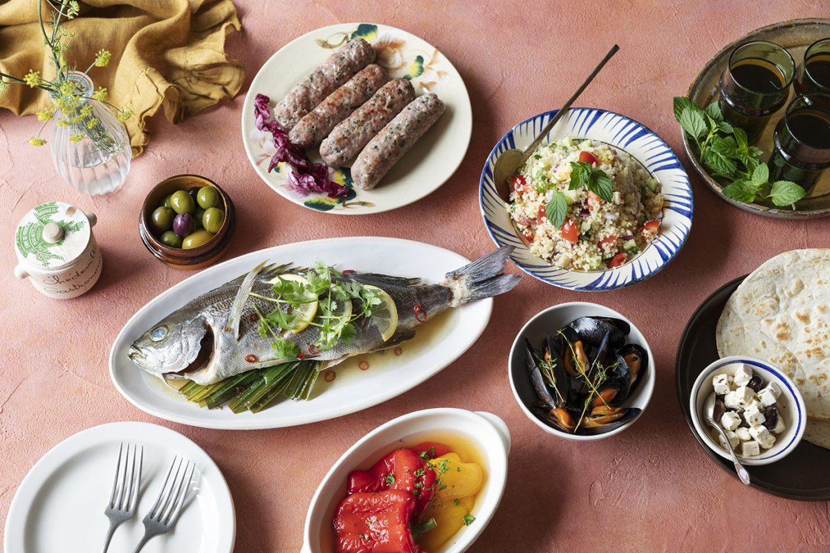 モロッコ風食卓のフードスタイリング