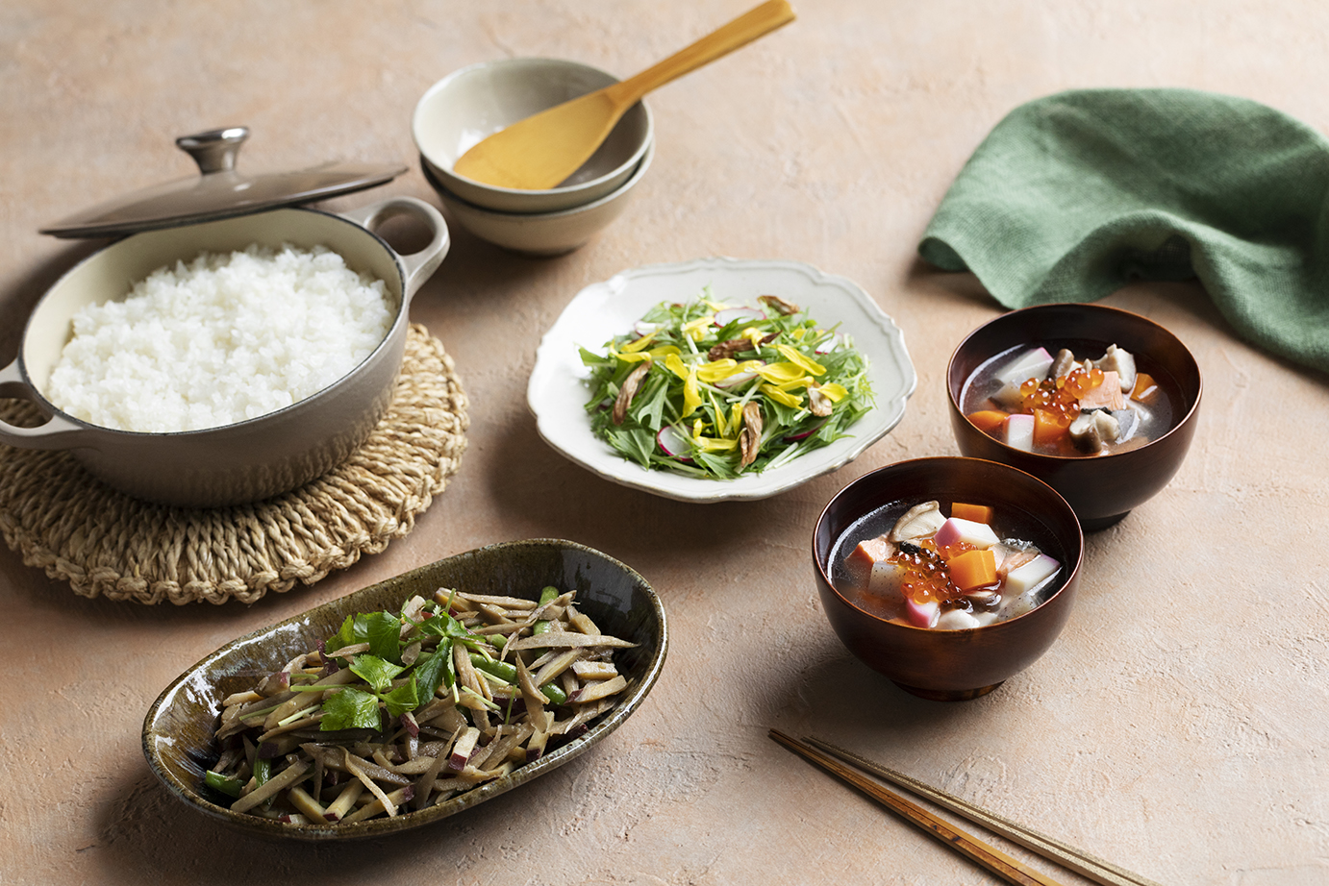 和食のフードスタイリング