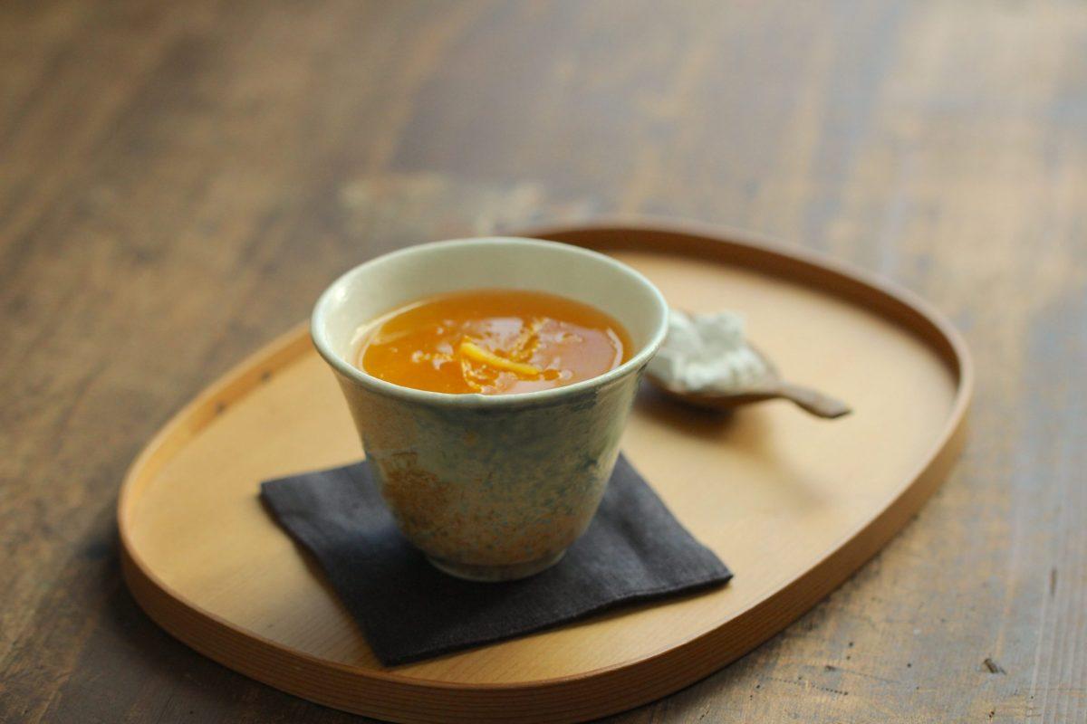 【レシピ】柚子みかん葛湯 | フードスタイリスト 河合真由子